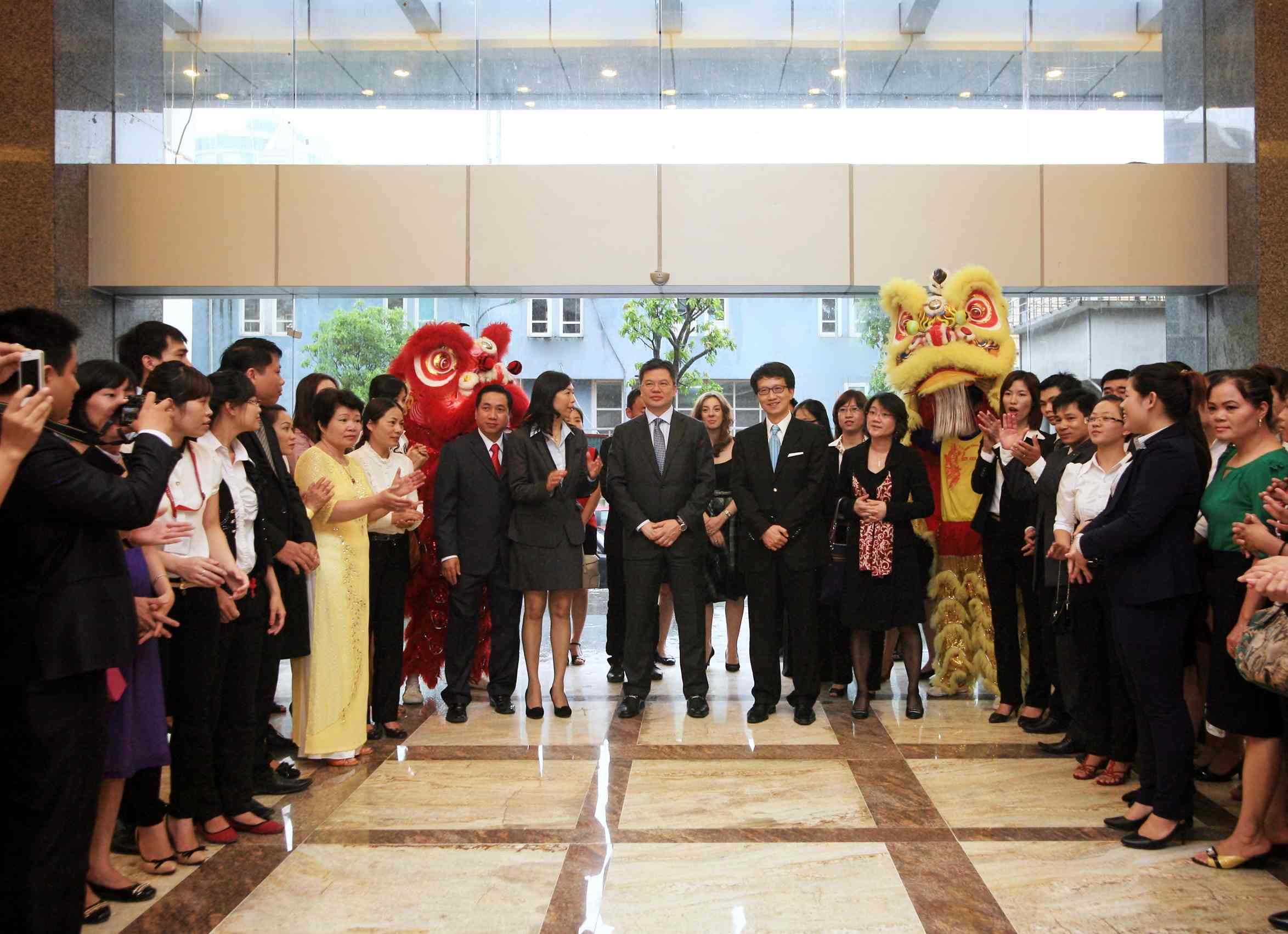 Generali Vietnam Life (GVL) Office Opening at VCCI Tower