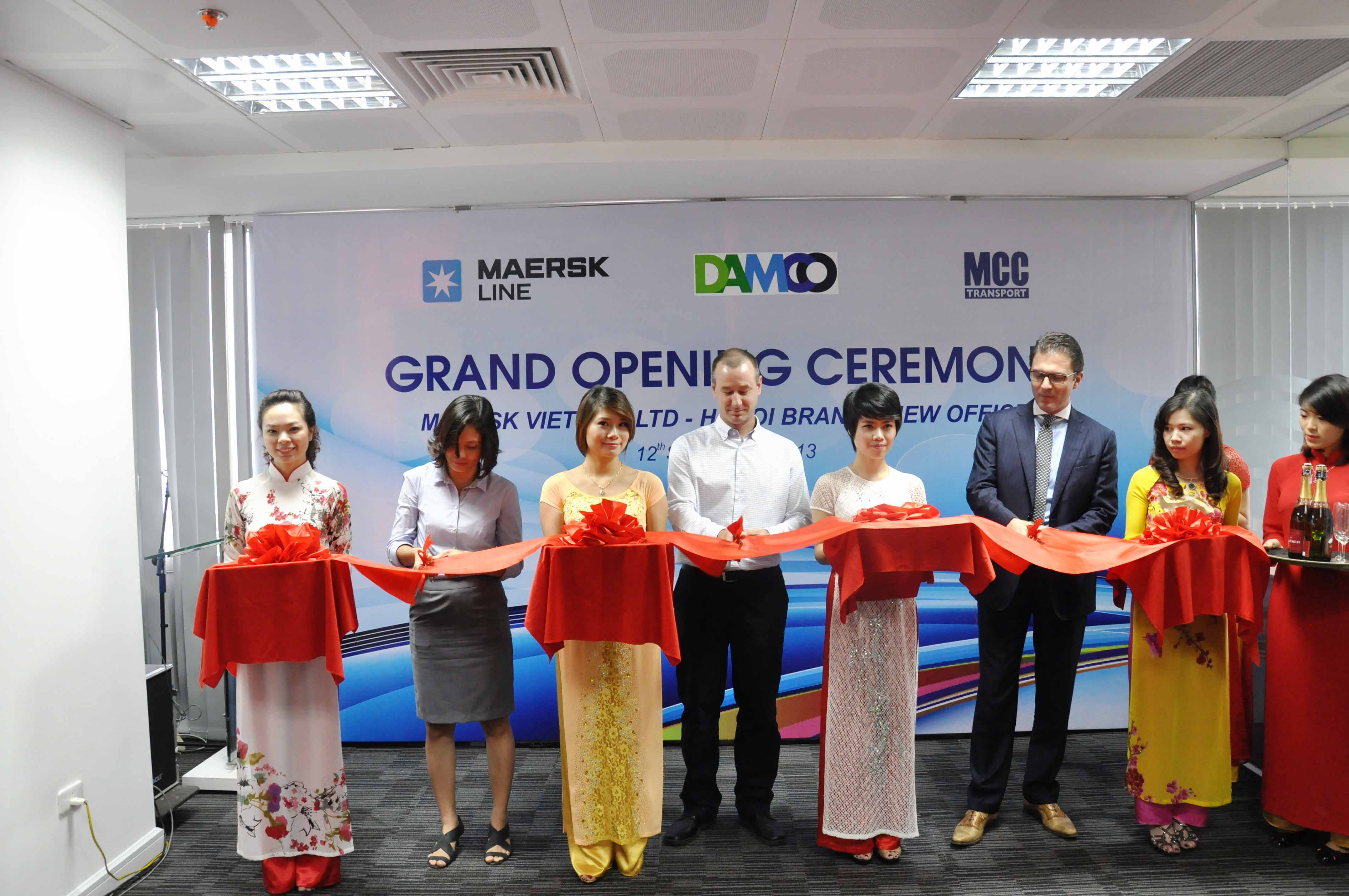 Maersk Line Vietnam Hanoi Office Opening at VCCI Tower 2